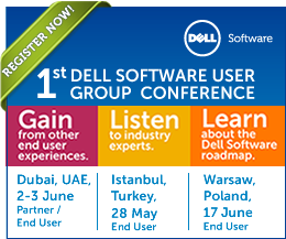 1st Dell Software User Group Conference