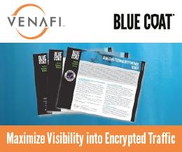 Venafi Bluecoat Partnership
