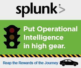 Put Operational Intelligence in high gear with SPLUNK!
